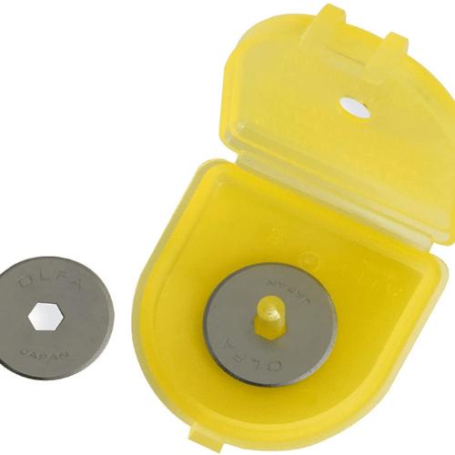Rotary cutter blades Olfa Øe18mm 2pcs pack - Sollex