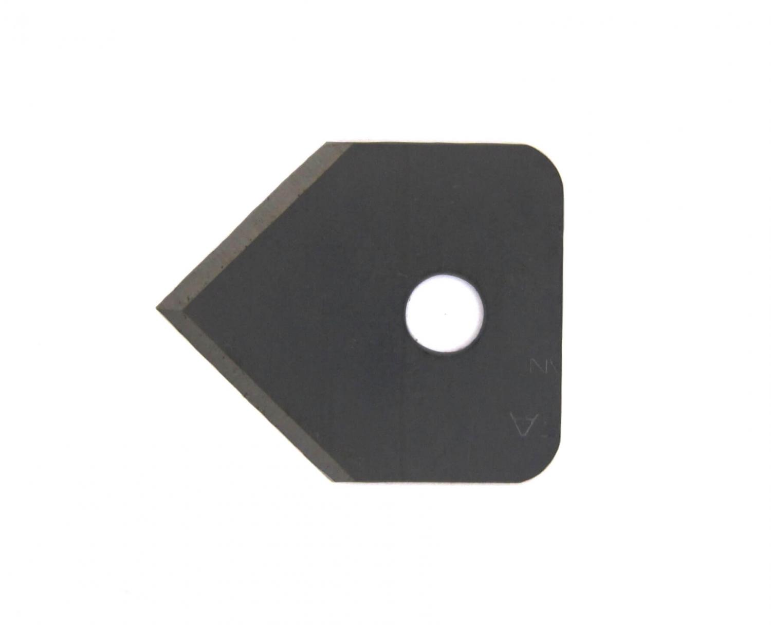 Double-edge pointed blade 24x20x0,3mm