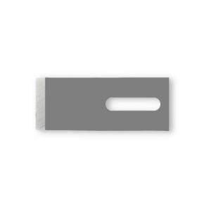 Granulator knife P808 in very durable tool steel. Measure:  50 x 20 x 0.8mm - Sollex