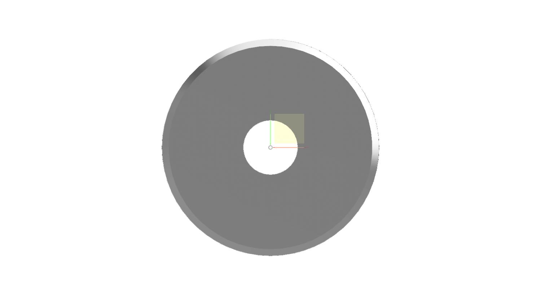 no perforation circular knife