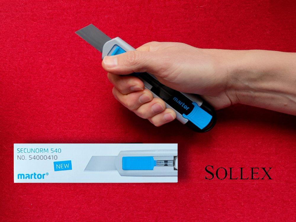 Sollex rekommenderar Martor 540 - läs om dess goda egenskaper