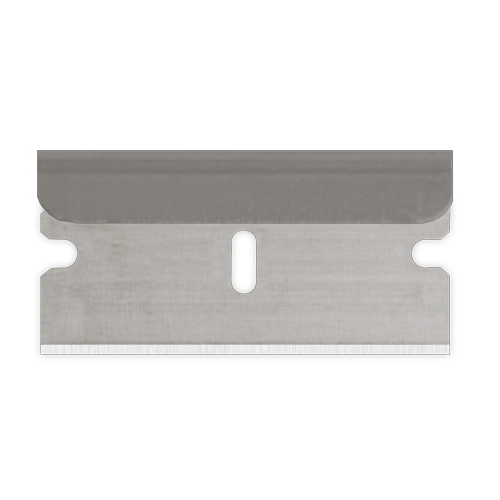 Heavy duty blade from Sollex is double cut in stainless steel.