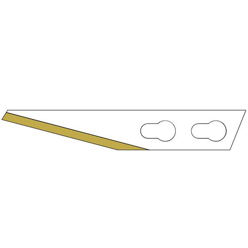 Titan används i Sollex kraftiga skalpell