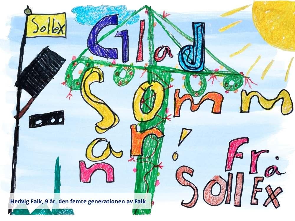 Sollex önskar Glad Midsommar 2021!
