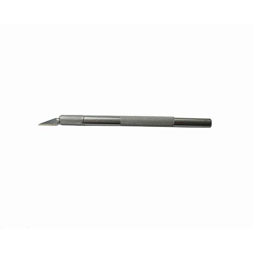 Med ett spetsigt blad är den smidiga pennkniv från Sollex perfekt för detaljarbetare.