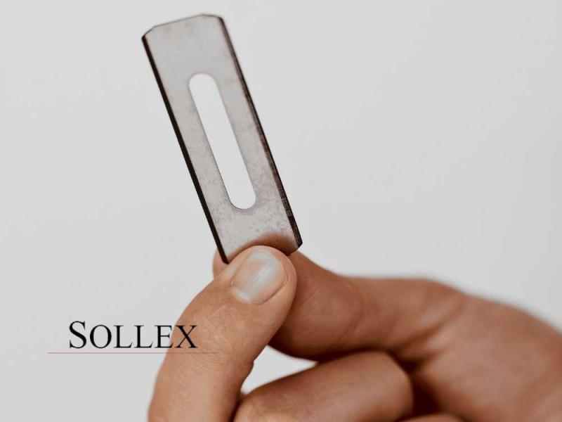 Sollex Slitterblad [Video] Industrirakblad och knivar för plastfilmindustri