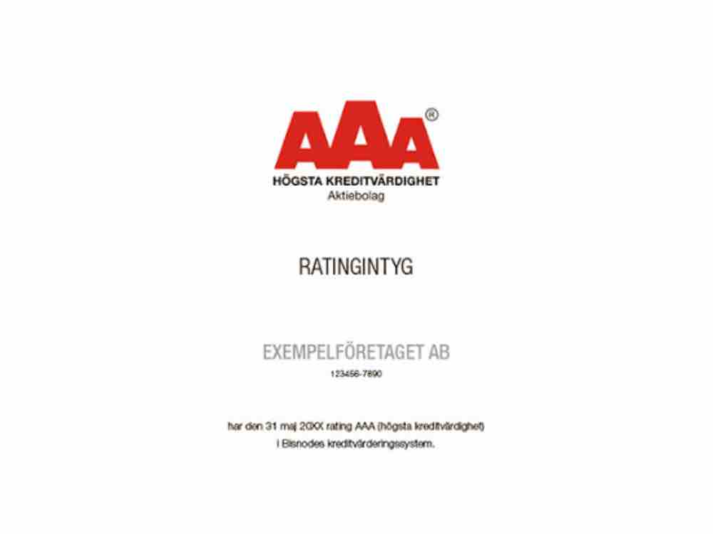 AAA rated