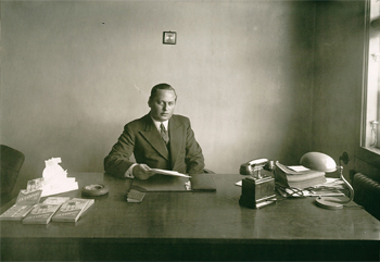 Sollex founder grandfather Herman Falk
