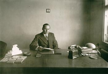 Sollex grundare Farfar Herman Falk