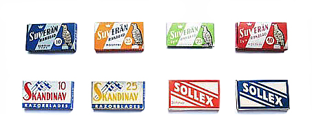 old boxes of Sollex packages