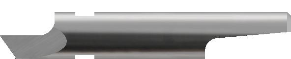 Drag blade, round-stock Max. cutting depth: 1 mm