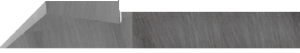 knife blade with extreme durability for Corrugated plastic & foam in tungsten carbide