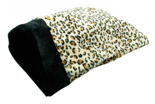 Pritax prasselpåse leopardmönstrad