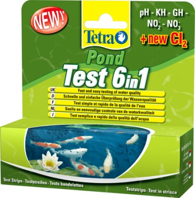 Tetra pond test 6in1