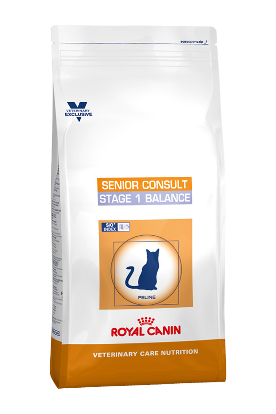 Royal Canin Veterinary Care Nutrition Cat Senior Consult Stage 1 Balance