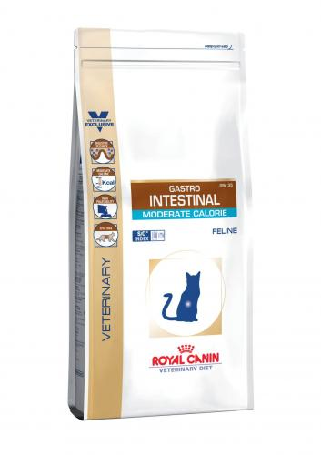 Royal Canin Veterinary Diet Cat Gastro Intestinal Moderate Calorie