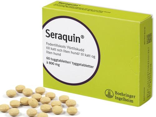 Seraquin 60 st, 800 mg