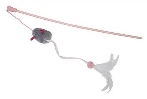 Pritax Cat Wand Long Tail Mouse