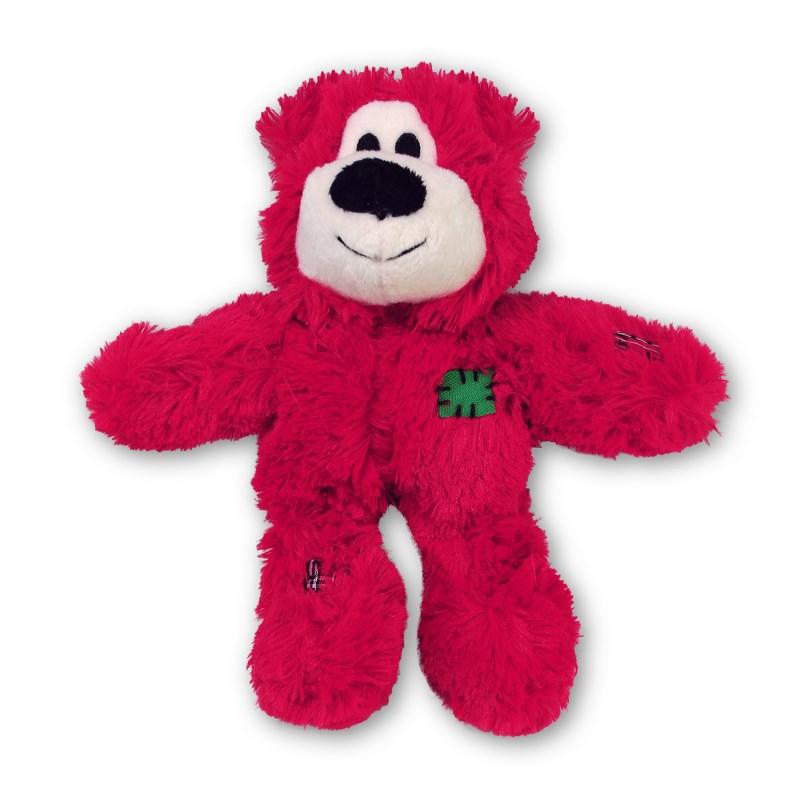 Kong Holiday Wild Knots Bear Röd