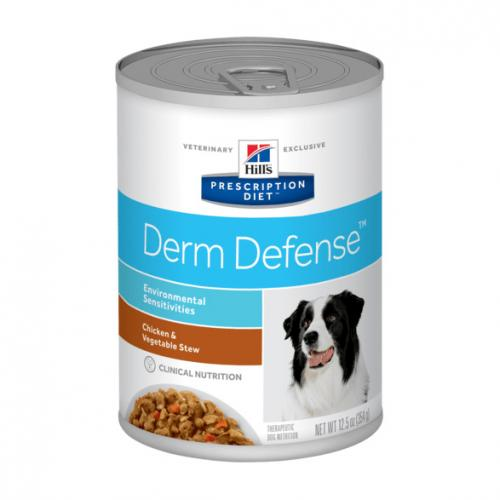 Hill´s Prescription Diet Derm Defense Canine Stew with Chicken & added Vegetables