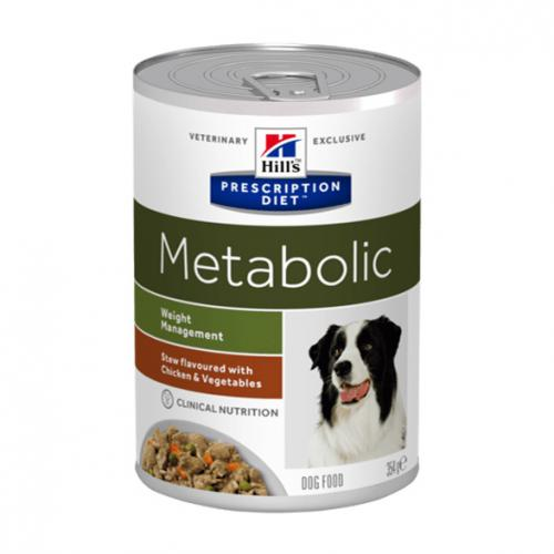 Hill´s Prescription Diet Metabolic Canine Stew flavoured with Chicken & Vegetables