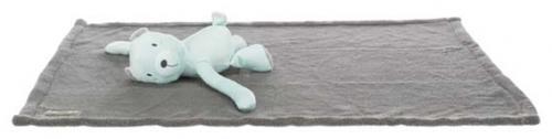 Trixie Junior Cuddly Set Filt/Björn Grå/Mint