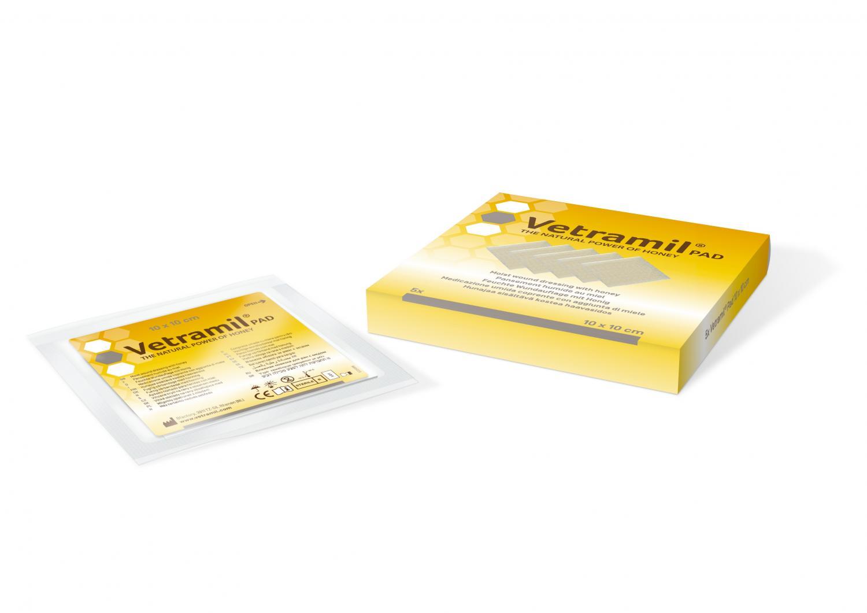 Vetramil Kompress 10x10 cm
