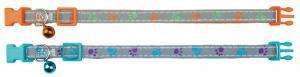 Trixie Katthalsband Tassmotiv, med snabblås