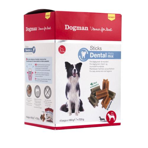 Dogman Sticks Dental mini mix box