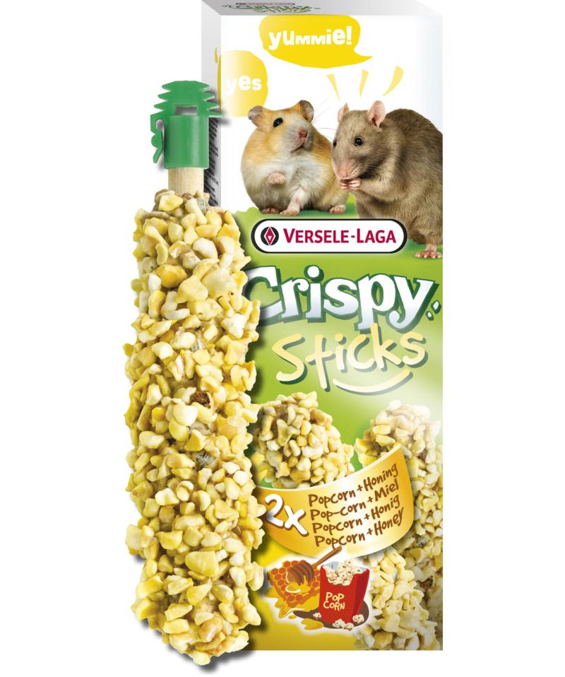 Versele-Laga Crispy Sticks, Popcorn/honung