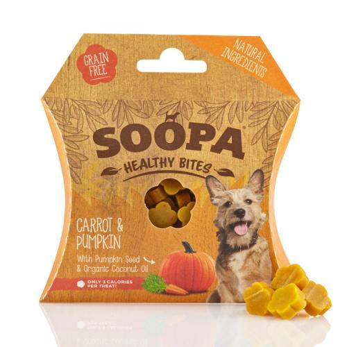 Soopa Bites Morot & Pumpa