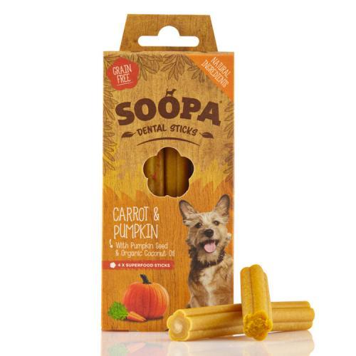 Soopa Sticks Morot & Pumpa