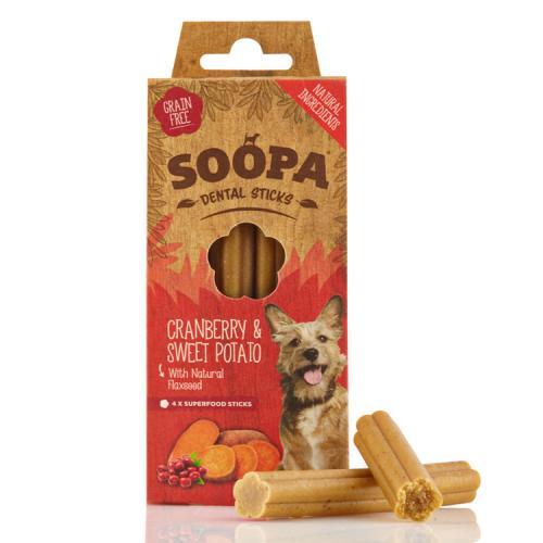Soopa Sticks Tranbär & Sötpotatis