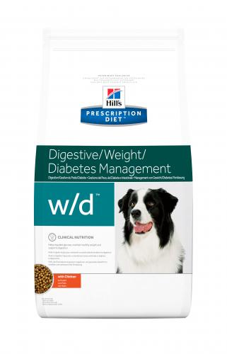 Hill's Prescription Diet Canine w/d