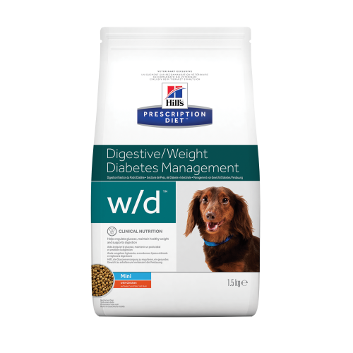 Hill's Prescription Diet Canine w/d Mini