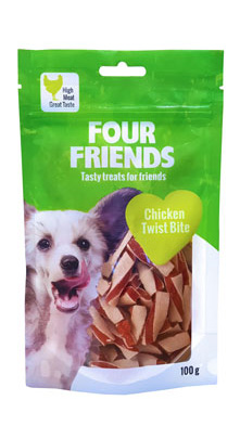 FourFriends Chicken Twist Bite