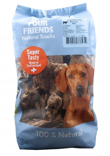 FourFriends Natural Snacks Beef Lung