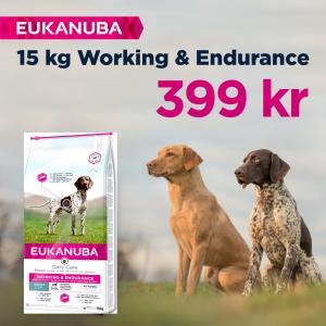 Eukanuba Dog Daily Care Working 15 kg - MAX 2 köp/hushåll