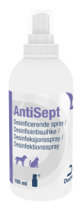 Dechra AntiSept Clorhexidin spray