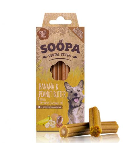 Soopa Sticks Banana & Peanut Butter