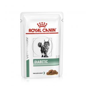 Royal Canin Veterinary Diet Cat Weight Management Diabetic Wet 12x85g