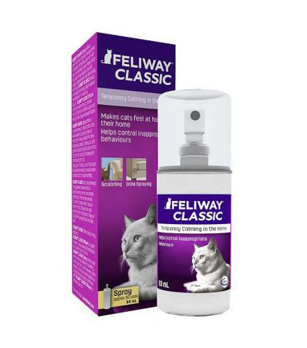Ceva Animal Health Feliway Classic Spray, 60 ml