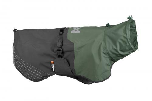 Non-stop Dogwear Fjord Raincoat Grey/Green