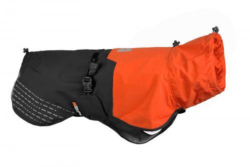 Non-stop Dogwear Fjord Raincoat Orange/Black