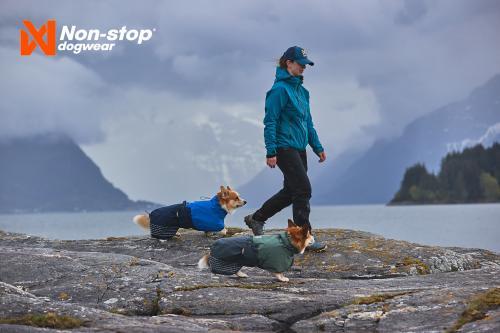 Non-stop Dogwear Fjord Raincoat Blue