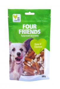 FourFriends Dog Bone N' Chicken