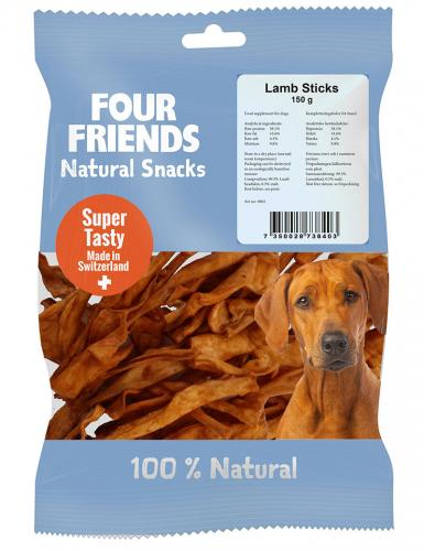 FourFriends Natural Snacks Lamb Sticks