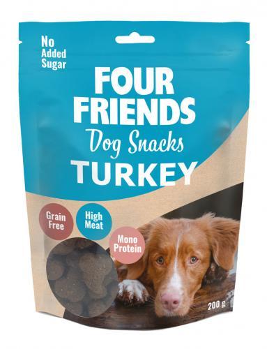 FourFriends Dog Snacks Turkey
