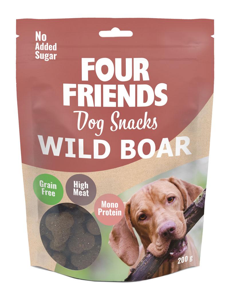 FourFriends Dog Snacks Wild Boar