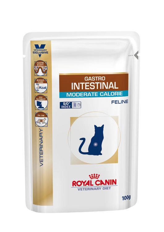 Royal Canin Veterinary Diet Cat Gastro Intestinal Moderate Calorie Wet